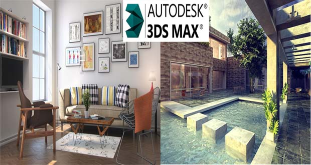 Formation en 3ds max casablanca for Dessin batiment 3d