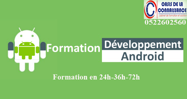 Formation en Android casa