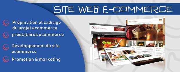Site Web E-Commerce casa