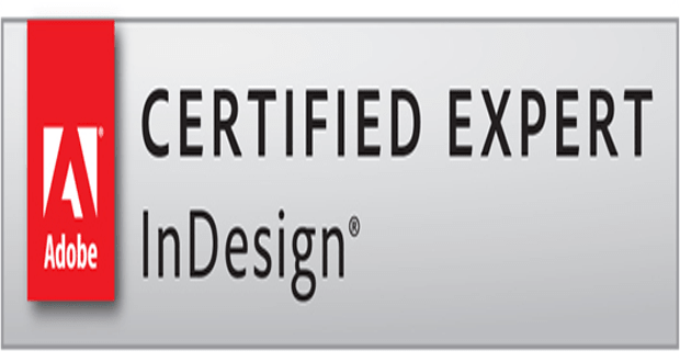 Certifications Indesign