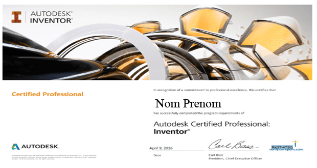 Certification Inventor