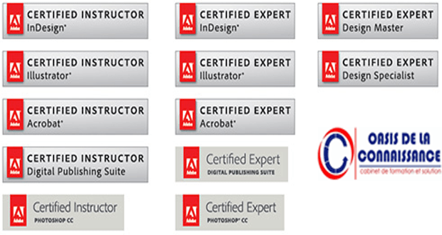 certification adobe - centre de certification